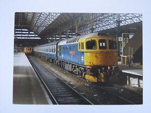 Vintage-1986-Class-33027-Earl-Mountbatten-of-Burma-from-Manchester-RP-Postcard