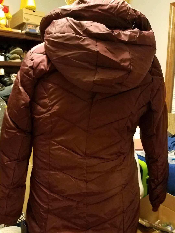 Steve Steve Steve Madden Women's Quilted Chevron Coat - Merlot - Size  Large(OLA630GP) 05d2f9