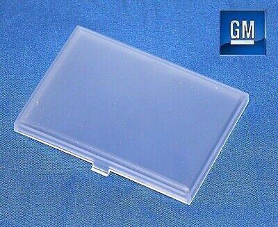 """88-02 GMC Sierra Yukon 2/"""" X 2.75/"""" Rectangular Dome Light Cover Lens NEW GM 768"""