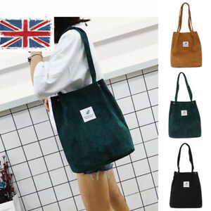 cc1b96833813b UK STOCK Fashion Women Canvas Large Capacity Tote Handbag Casual ...