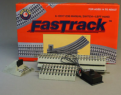 LIONEL FASTRACK LOT TRACK PACK OUTER PASSING LOOP switch train fast 6-12031 NB