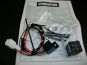 Modul-fuer-automatisches-anklappen-Aussenspiegel-Mazda-2-3-6-CX-5-CX-3