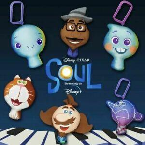 2020 McDonalds Disney Pixar Soul Plush Happy Meal Toy >> PICK TOY <<
