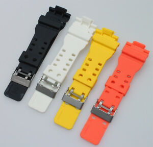 Details About Replacement Rubber Watch Band Strap For Casio G Shock Ga 100 Ga 110 G 8900