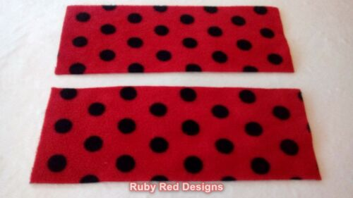 Ruby Red Designs Rectangle Fleece Liners NEUTRAL