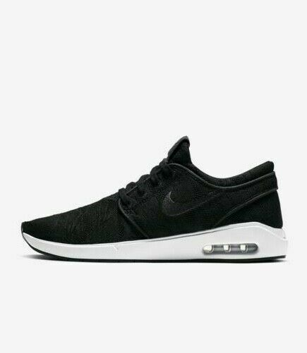 Convocar compañerismo Luna  Nike SB Stefan Janoski Air Max Skateboarding Shoes Mens 11 Black 631303 099  for sale online   eBay