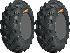 Pair-2-GBC-Dirt-Devil-23x8-11-ATV-Tire-Set-23x8x11-23-8-11
