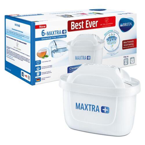 BRITA Maxtra Plus x 6 Water Filter Jug Replacement Cartridges Refills
