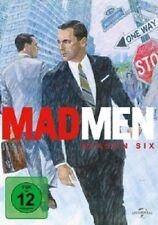 MAD MEN - SEASON SIX - JON HAMM / JOHN SLATTERY / SCOTT HORNBACHER - 4 DVD NEU!