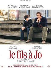 Affiche 120x160cm LE FILS A JO (2010) Gérard Lanvin, Marchal, Moscato NEUVE