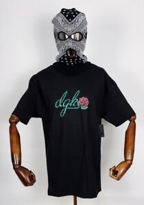 Dgk-Skateboards-T-shirt-Tee-Bloom-Black-in-S-Dirty-Ghetto-Kids