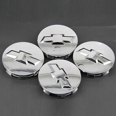 3.25 Chrome Hub Cap for 18 20 22 Chevrolet Surburban Silverado Tahoe Wheels Silver CCBaseball 2005-2013 Chevrolet Wheel Center Caps