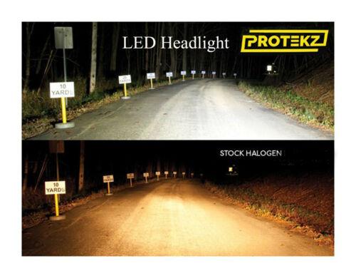 LED NITRO 2007-2011 Headlight Kit H13 9008 6000K White Bulbs High//Low Beam