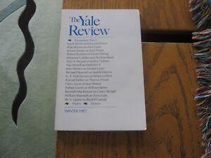 1987-Yale-Review-Encounters-Christina-Stead-Crane-Mann-Malcolm-X-Wm-James