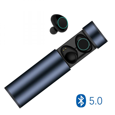 0 Bluetooth 5 Muzili Auricolari TWS Hi Fi Cancellazion Cuffie Pettorali Leggeri BqAdEEwW