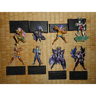 "Saint Seiya 1-3"" Figure 8pcs Authentic Bandai Japan k#13843"