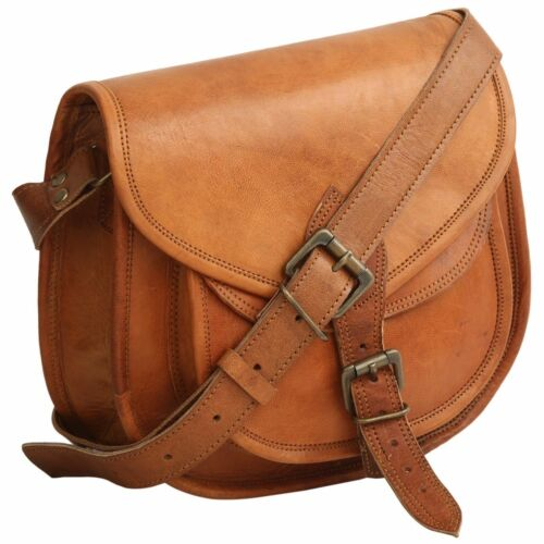 NEW Women/'s Vintage Brown Leather Messenger Cross Body Shoulder Handmade Bag