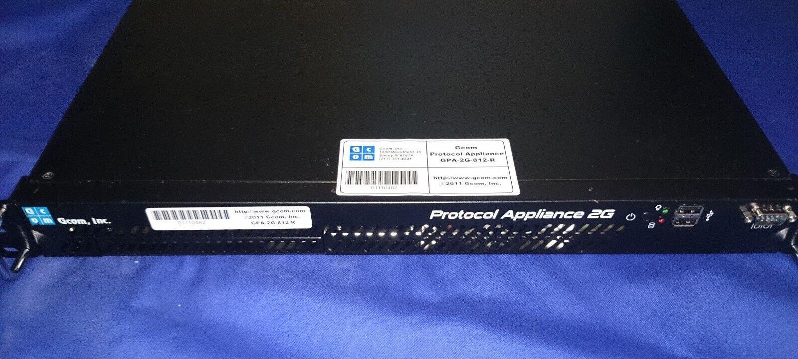 GCOM Predocol Appliance 2G GPA-2G-812-R