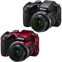 Nikon COOLPIX B500 16MP Full HD 1080p Wi-Fi Digital SLR Camera (Black or Red) - Manufacturer Refurbished