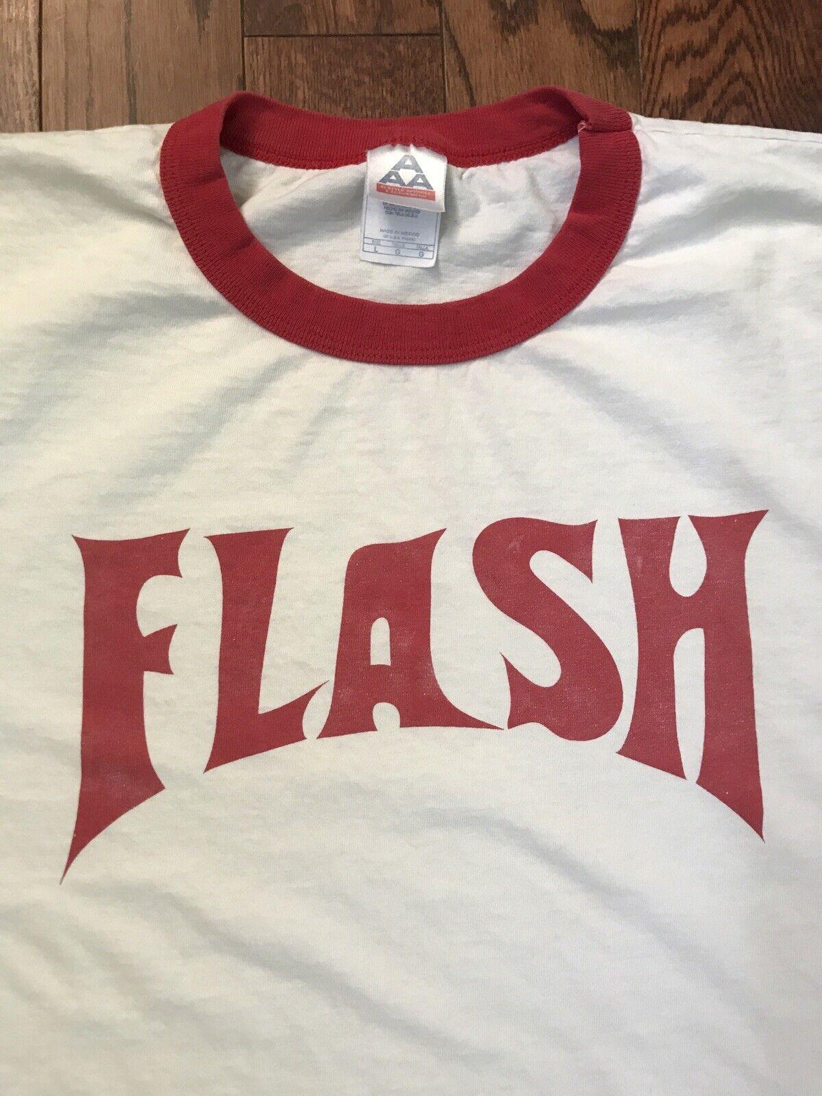 Queen /'Flash/' Ringer T-Shirt NEW /& OFFICIAL!