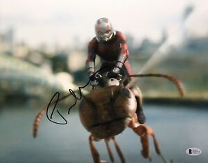 Paul-Rudd-Signed-039-Ant-Man-And-The-Wasp-039-11x14-Photo-BAS-Beckett-E19713
