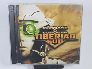 Command & Conquer: Tiberian Sun 1999 PC CD-ROM 2 Disc Video Game