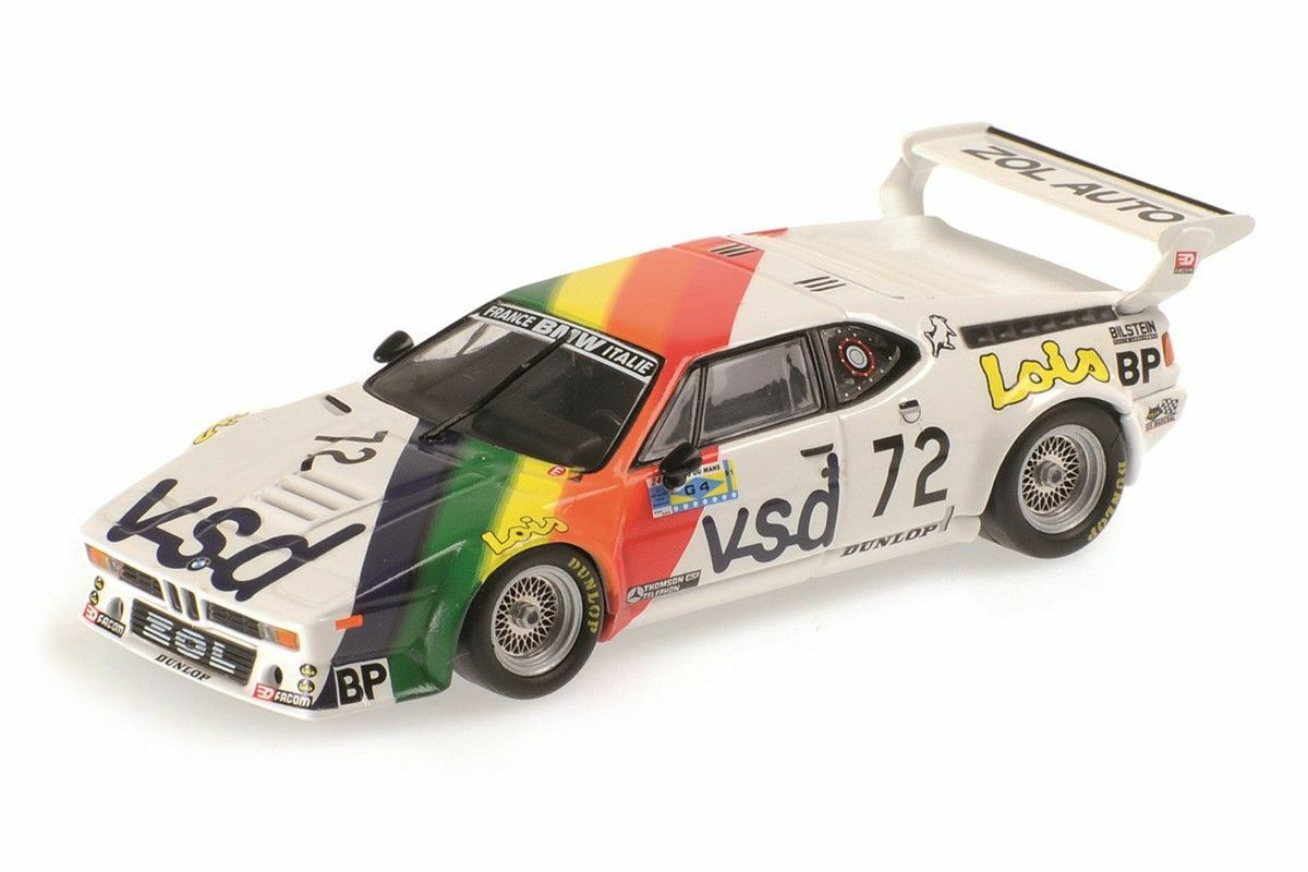 Bmw m1 courrament voiture France 24 H le mans 1981 Rousselot 1 18 Minichamps