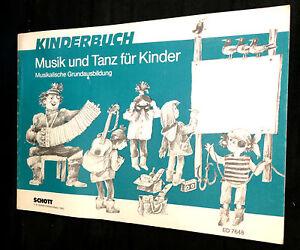 Kinderbuch-MUSIK-und-TANZ-fuer-Kinder-Musikalische-Grundausbildung