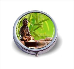 Buddha Zen Garden Atmosphere Pill Box Slk9z Ebay