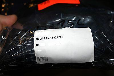 NEW 5PCS MR756 DIODE STD REC 6A 600V AXIAL 756