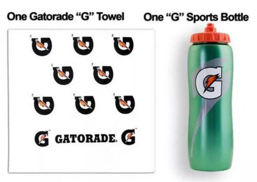 Gatorade® G Sideline Towel Anti-Microbial Cotton Sports//Gym 42x22 W//32 oz bottle