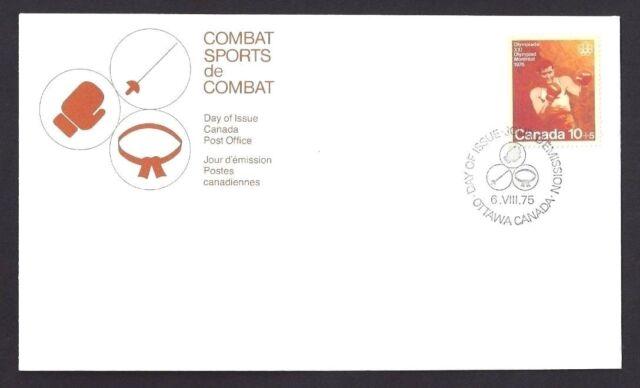 Canada   # B8    Boxing -  Combat Sports     New 1975 Unaddressed