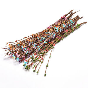 10-X-Pretty-PIP-Berry-Stem-for-Wreath-Floral-Arrangement-Crafts-Decoration-S