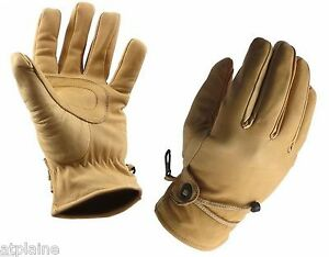 Gants-moto-cuir-double-INDIANA-naturel-Taille-L
