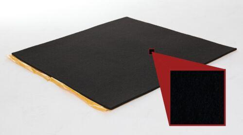 ab 1 qm Schwarz selbstklebender Filz 2,5 mm Meterware Kofferraumfilz