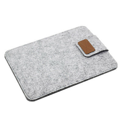 """Wool Felt Envelope Soft Bag Case Sleeve Cover Pouch For 7"""" ~ 9.7"""" inch Tablet"""