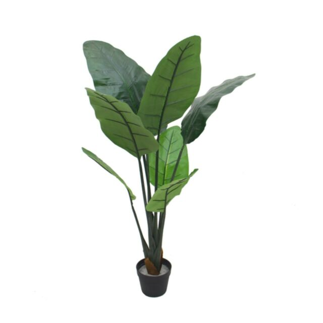110Cm Tall Potted Artificial Bird Of Paradise Home Decor Fake Plant Flowers