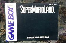 GameBoy Anleitung Super Mario Land Noe2  Manual