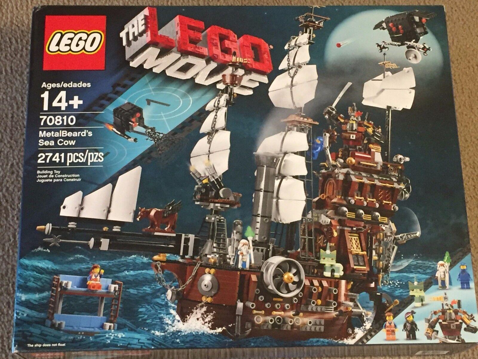 Lego 70810 MetalBeard's Sea Cow 70810 - LEGO Movie Ship - Retired - NEW