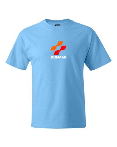 Japanese Konami Retro Video Game Logo T-Shirt S-5XL Quality shirt
