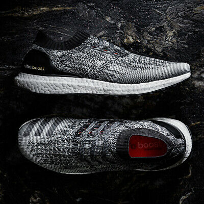 adidas Ultra Boost Uncaged Mens Running Shoes Black Grey Trainers BB3900 SIZES   eBay