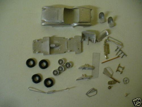 Triumph TR3  1 43rd scale white metal kit  by K & R Replicas