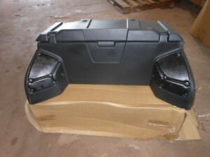 Brp Oem Atv Rear Trunk Box Cargo Storage Luggage Kit Can