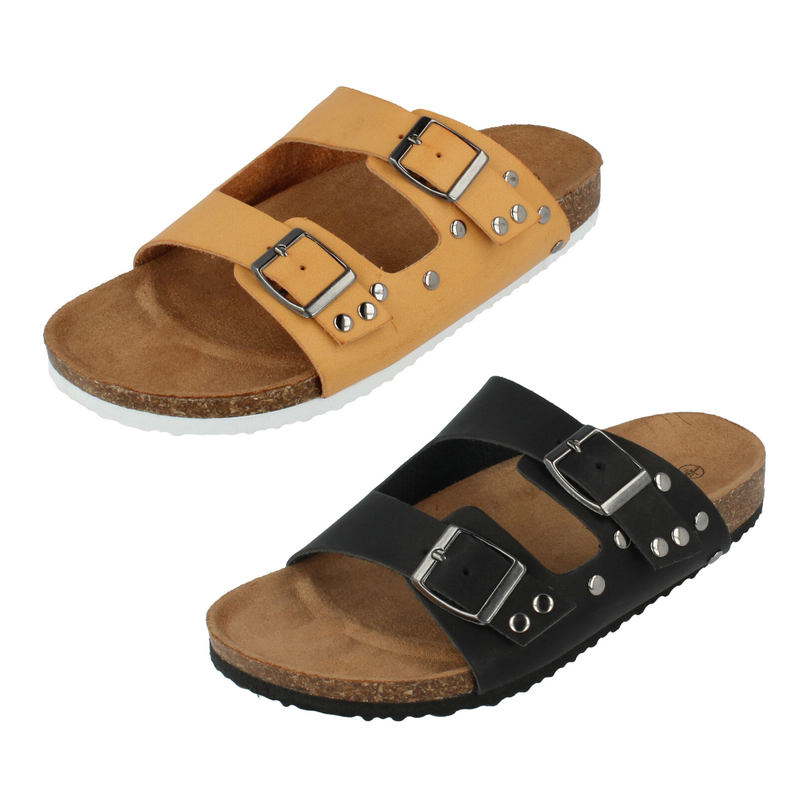 SALE Ladies Down F00049 Mule Sandals By Down Ladies To Earth Retail Price f0f4eb