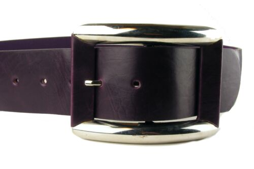 Hüftgürtel Gürtel Taillengürtel  Damengürtel violet  lila chrom breit HG18