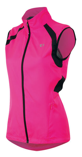 Pearl Izumi 2016 Women's Elite Barrier Bicycle Cycling Vest Screaming Pink - 2XL