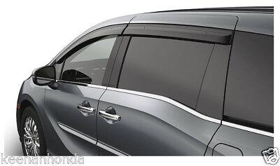 Genuine OEM Honda 2018 Odyssey Door Visor Set Visors 08R04-THR-100