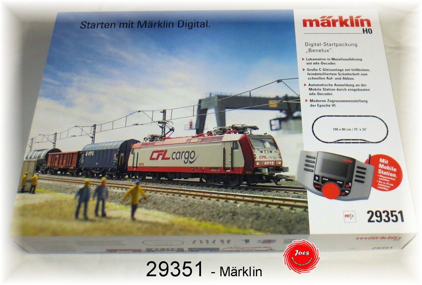 Digital 29351-Confezione iniziale  Benelux  con MS 60653  neu in OVP
