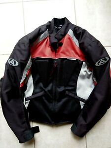 AGVSPORT-Motorcycle-Jacket-X-SMALL-Armored-Mesh