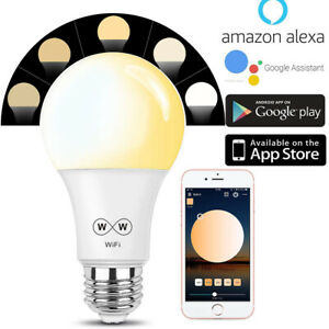 Smart-LED-Bulbs-WiFi-Dimmable-Lights-for-Apps-by-iOS-Android-Amazon-Alexa-Google